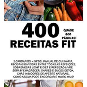 400 Receitas Fit com Cardápios